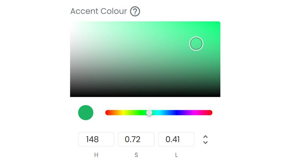 virtual event colour picker