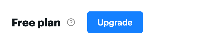 Upgrade from the free plan to a paid plan.
