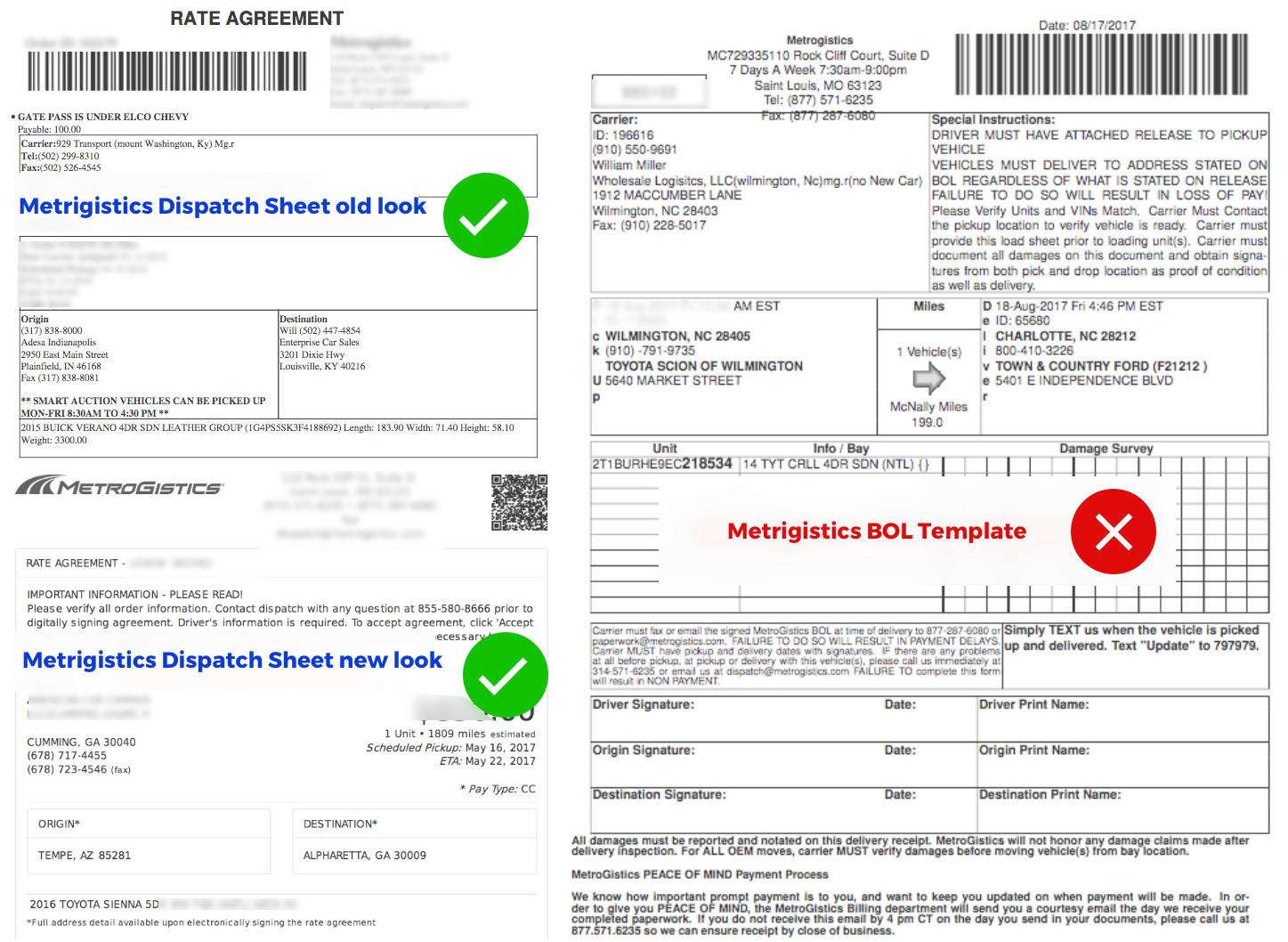 How to Import a Metrogistics dispatch order into Super Dispatch – Bol Template