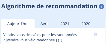 Recommandation Chatbot NLP
