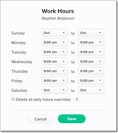availability work
