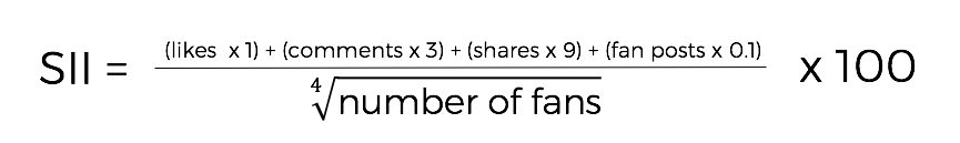how to calculate SII