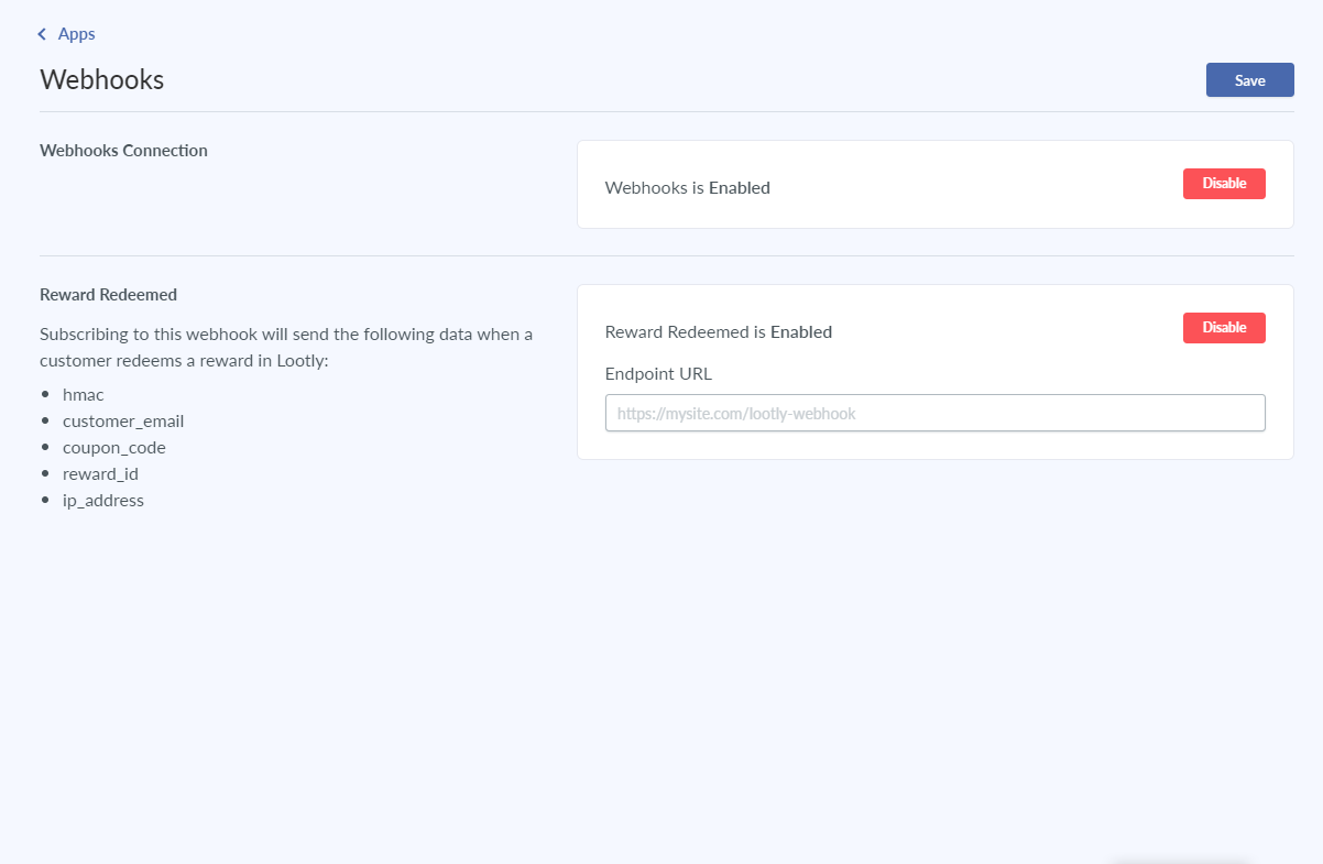 lootly integrations