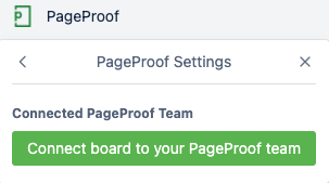 Connect the PageProof Power-Up in Trello