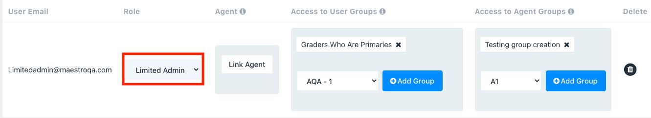 configure users
