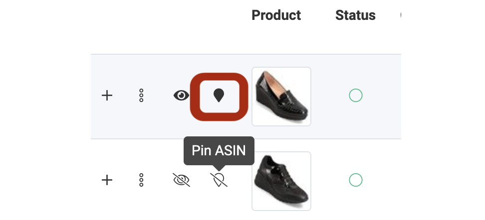 How to use Products Manager Module SOP - Pin your ASINS