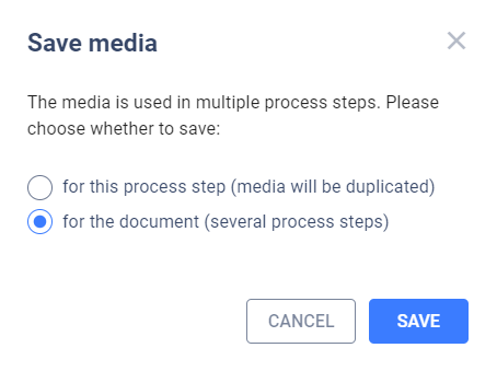 Save media