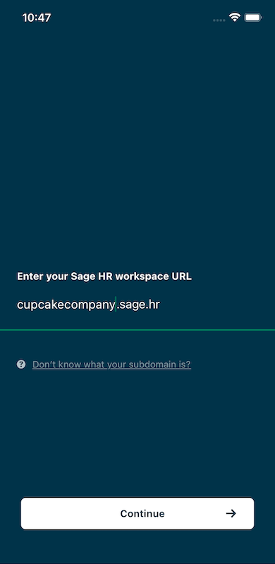 Domain Discovery in Sage HR app