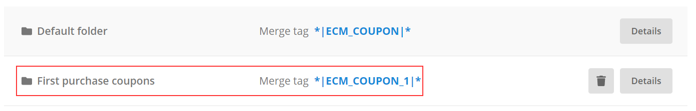 new folder coupons
