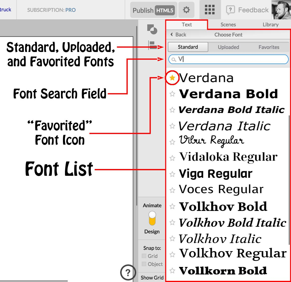 Quickly Switch Between Font Styles By Using The Weight Slider Found Just Below Name Essential Text Editing Features Such As Italicize