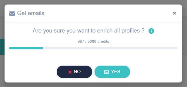 Enrich LinkedIn profiles