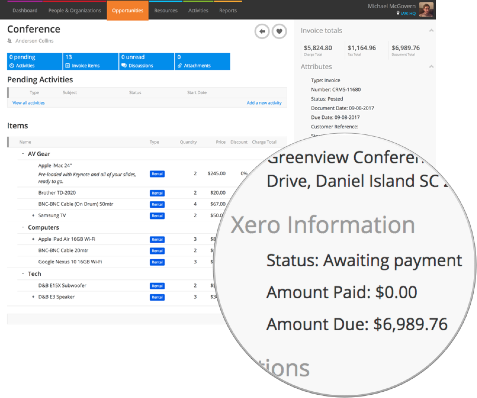 Post An Invoice Or Credit To Xero Or QuickBooks Online Current RMS - Quickbooks invoice status