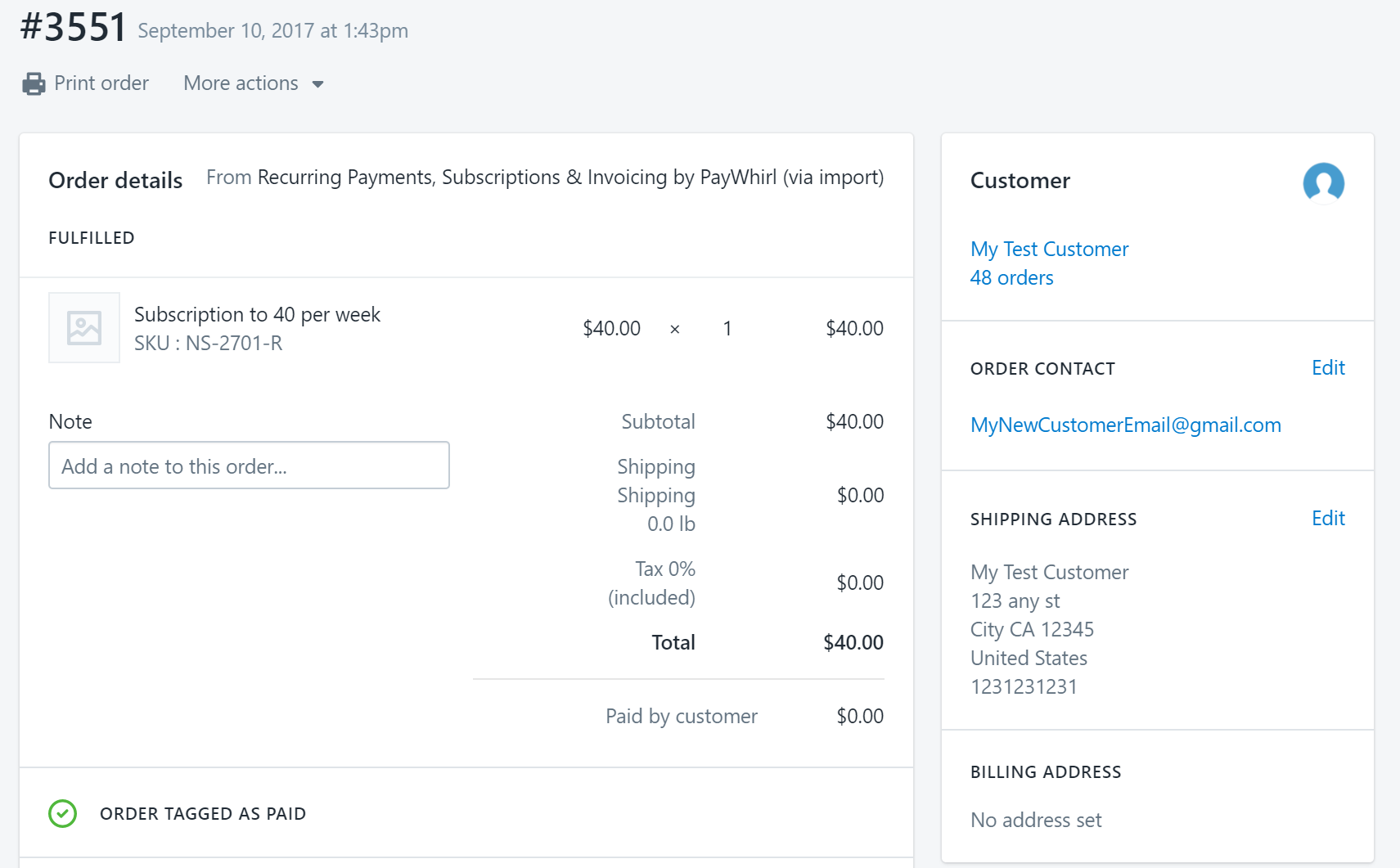 Does PayWhirl Create Orders In Shopify PayWhirl Help Support - Create invoice in shopify