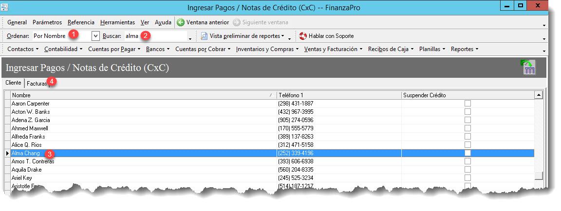 Aplicación de pagos y abonos a las CxC y su respectivo depósito en ...