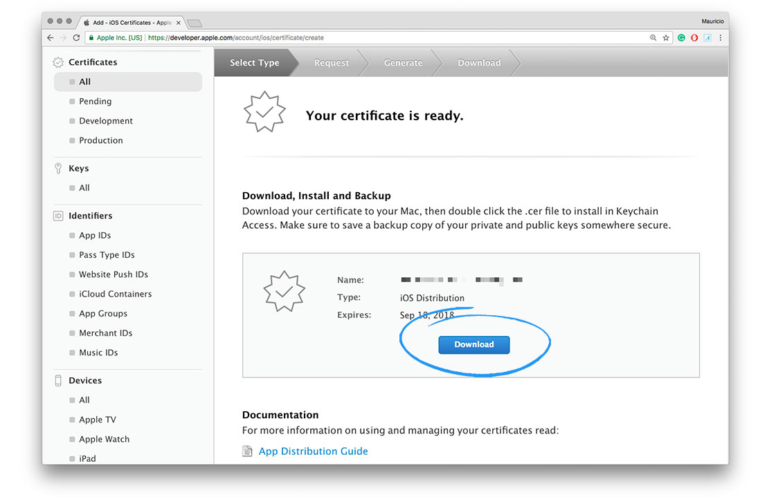 How To Create My Ios Distribution Certificate Ordering Support