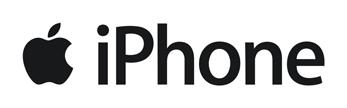 The iPhone logo