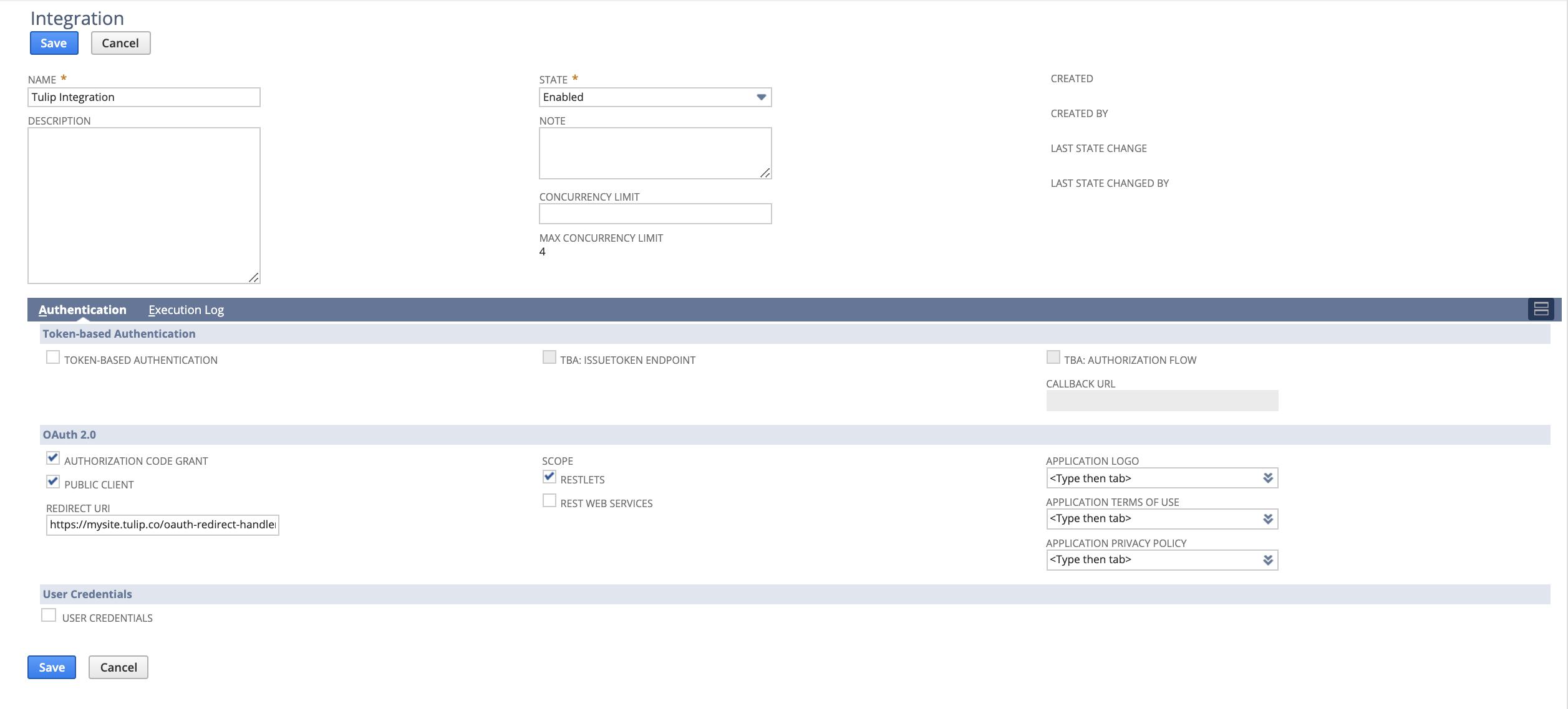 tulip-netsuite-oauth2.0-integration