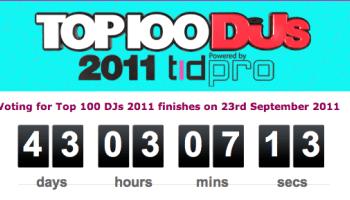 In vergelijking: Tussenstand DJMag Top 100 (2011) | #analytics