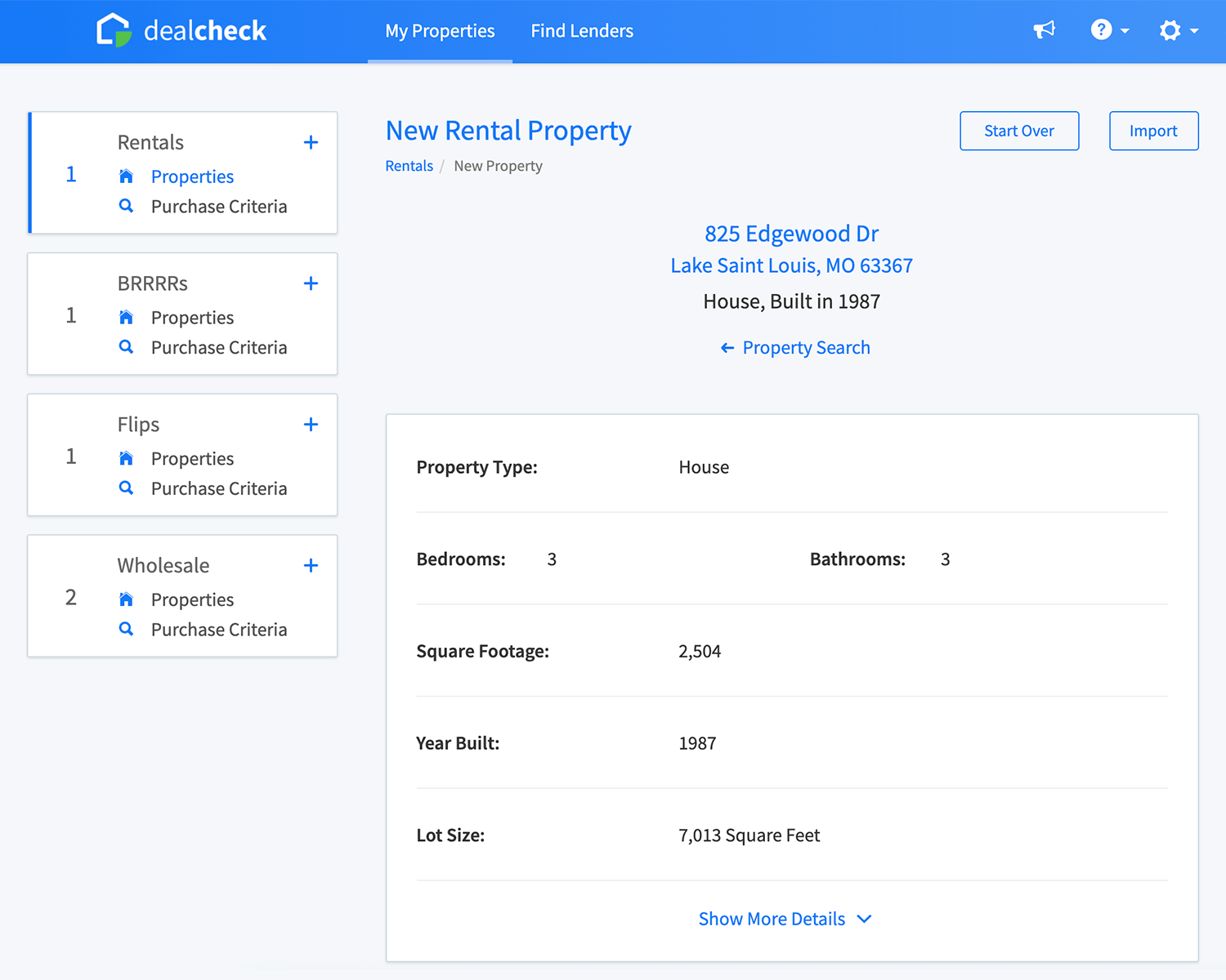 Add to DealCheck link example