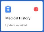 Dentally  - Patient Portal Update Medical History