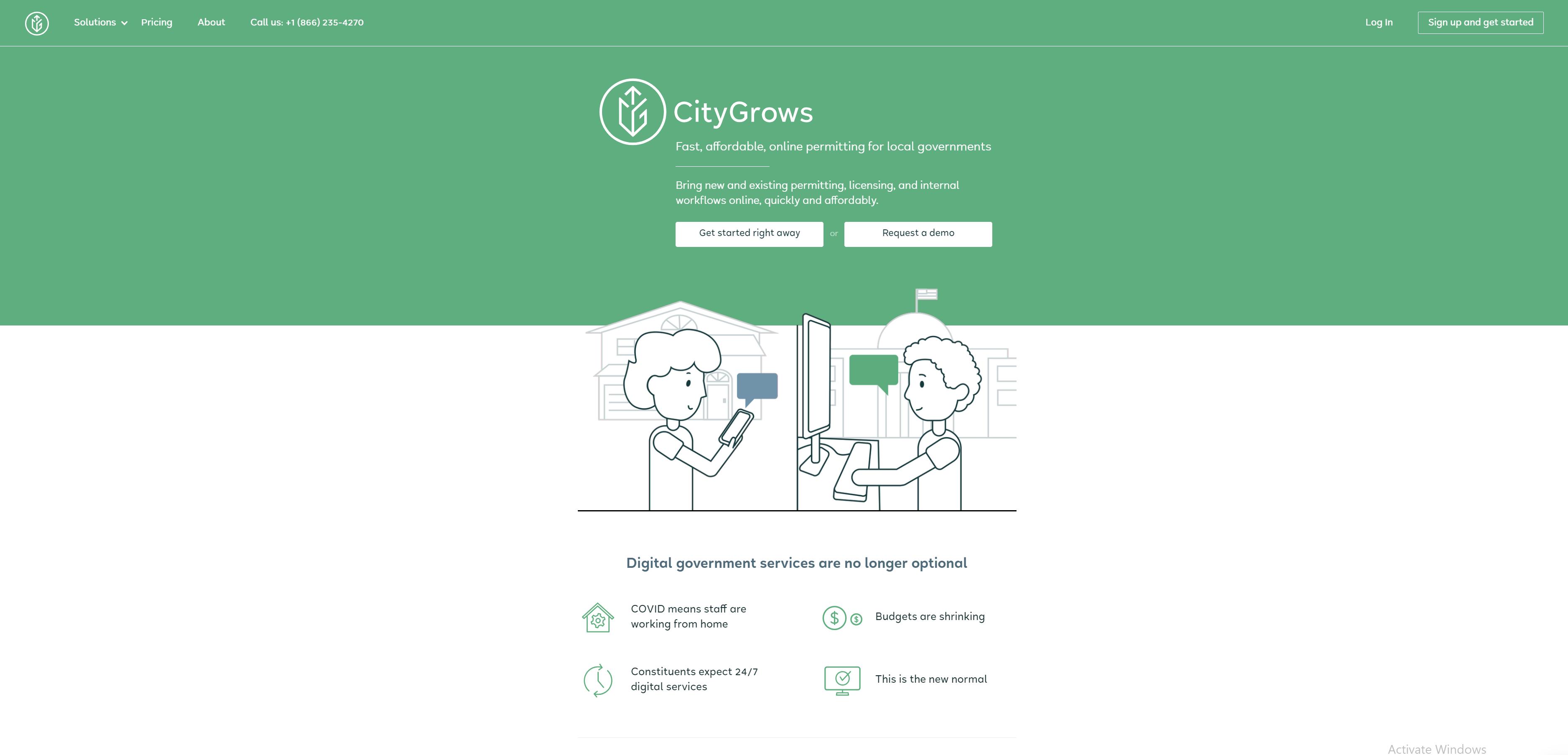 CityGrows Home Page