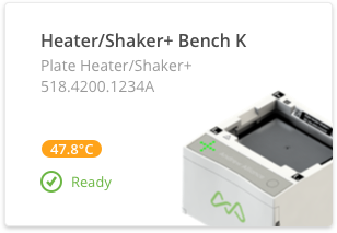 Automated plate heater-shaker experiment with OneLab