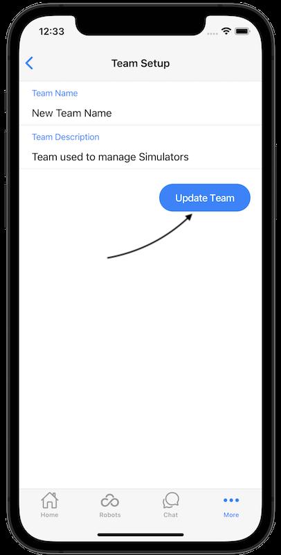 team update