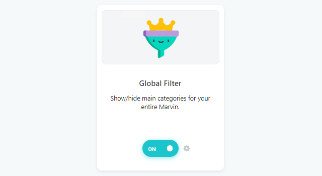 Global Filter strategy