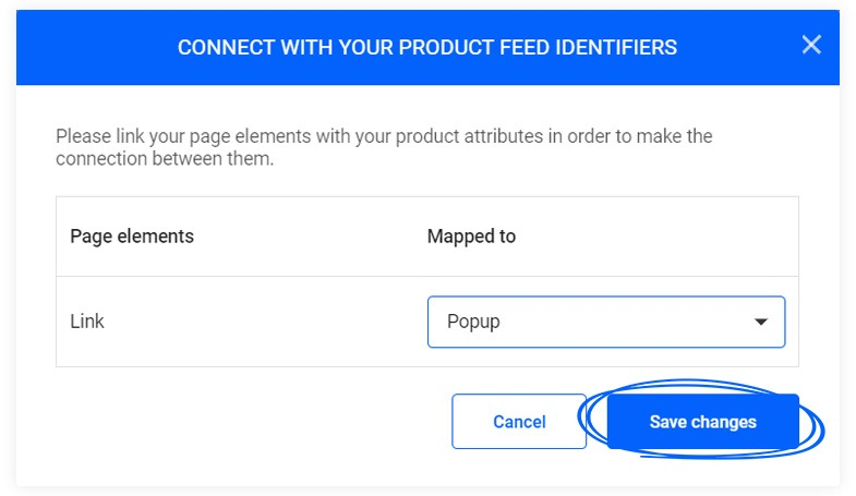 How to connect your product feed identifiers for Automation