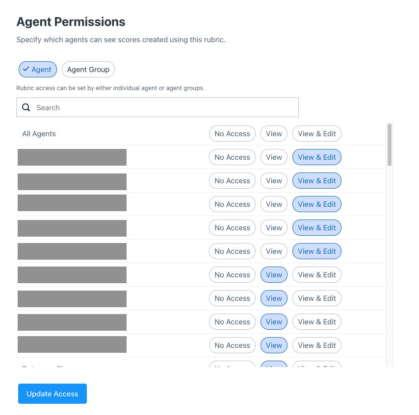 agent permissions in platform