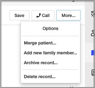 archive patient