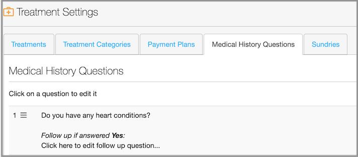 medical history dentally