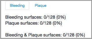 bleeding and plaque charting