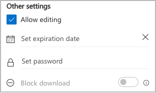 Microsoft 365 PowerPoint settings for allow editing