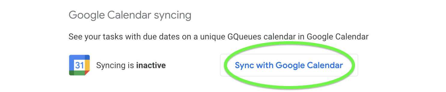 Reactivate Google Calendar syncing to resolve syncing issues.