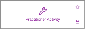 Dentally Practitioner Activity Report icon