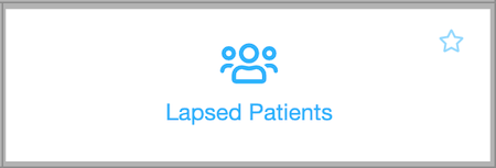 Dentally - Lapsed Patients Report icon