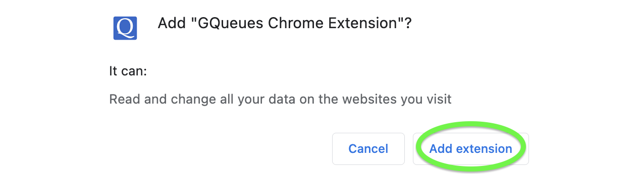 Add the Chrome Extension to your browser.