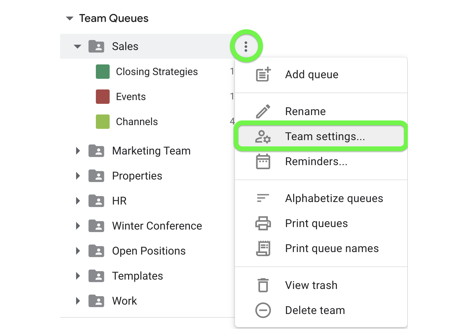 Activate Calendar syncing from Team Settings.