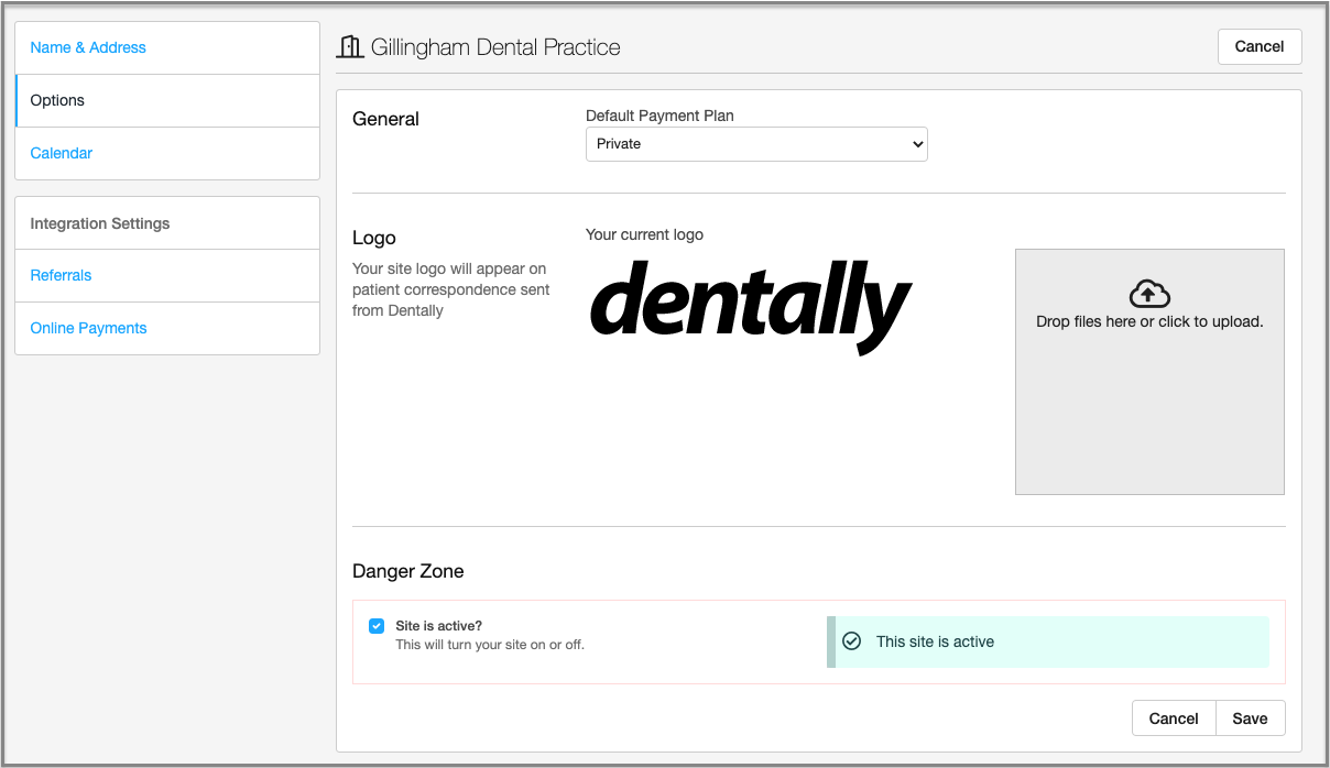 dentally logo