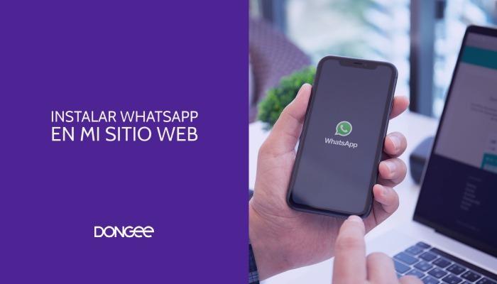 Cómo añadir el botón de whatsapp a una página web