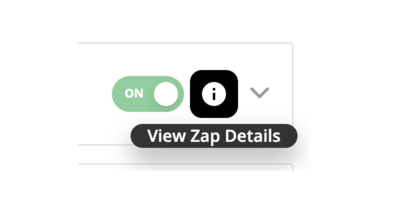 View Zap Details