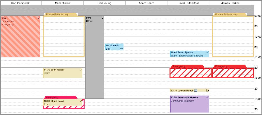 calendar sessions