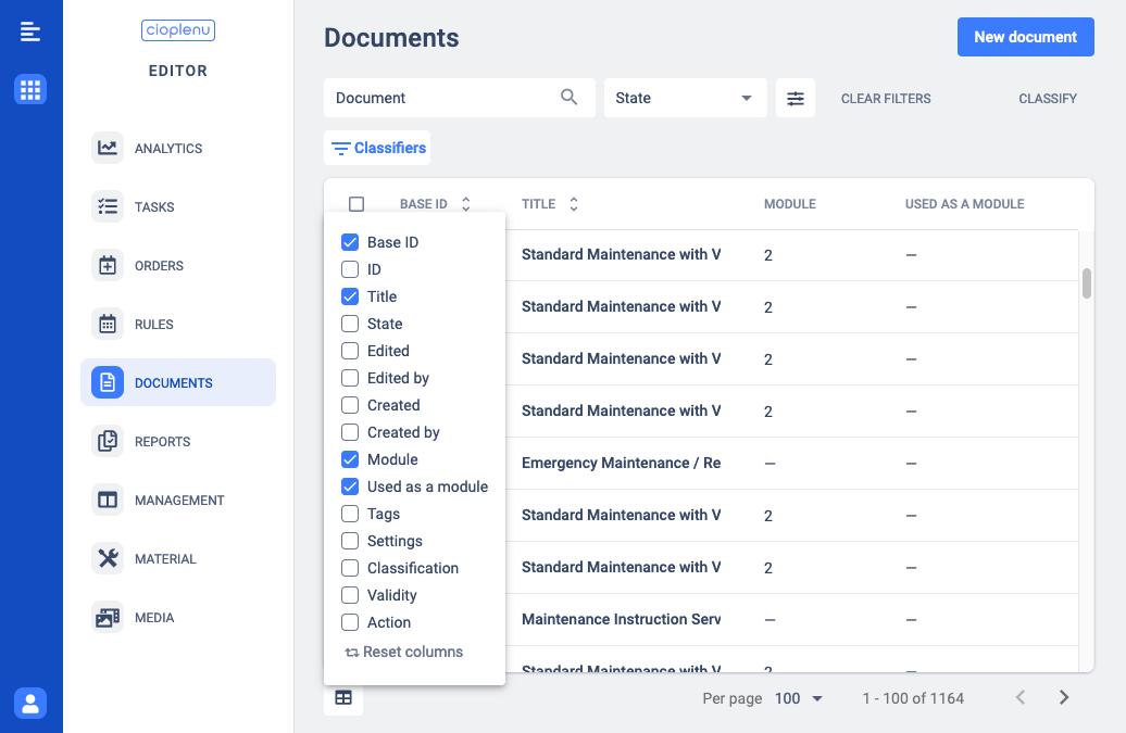 documents moduls
