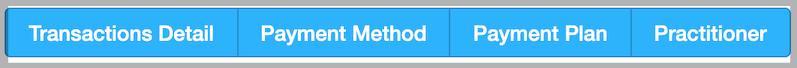 Dentally Takings Report Summary display options