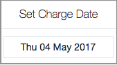 set charge date