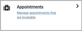 Dentally Patient Portal Appointments icon