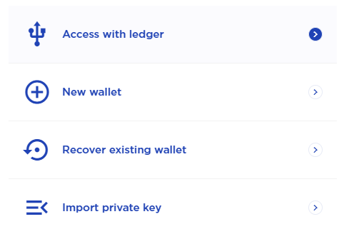 Connect Terra station to Ledger