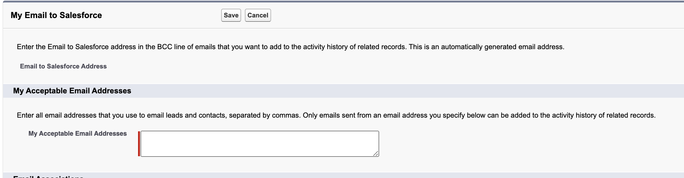 upload emails sent from Upflow to Salesforce