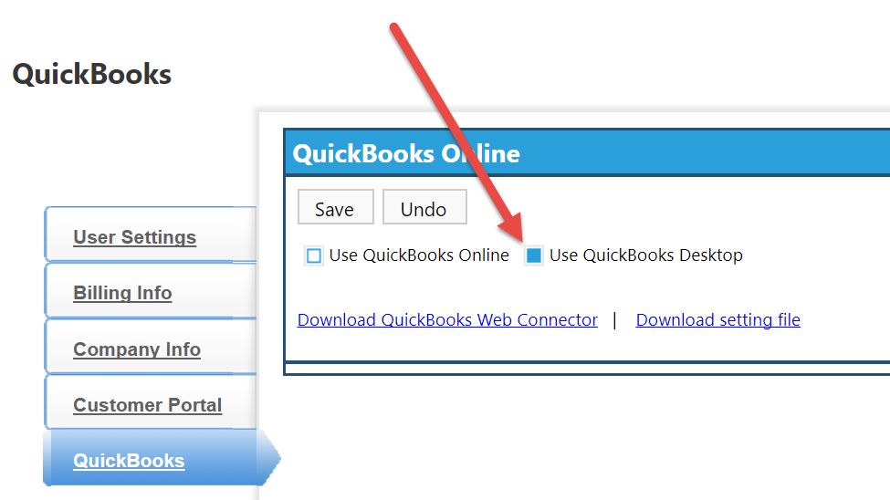 Syncing clipitc with quickbooks desktop clip software help center now check the box labeled use quickbooks desktop ccuart Choice Image